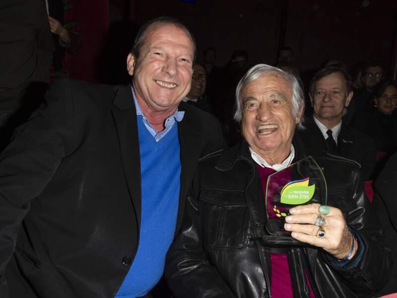 Trophées du Bien-Être : Jean-Paul Belmondo et Rolland Courbis