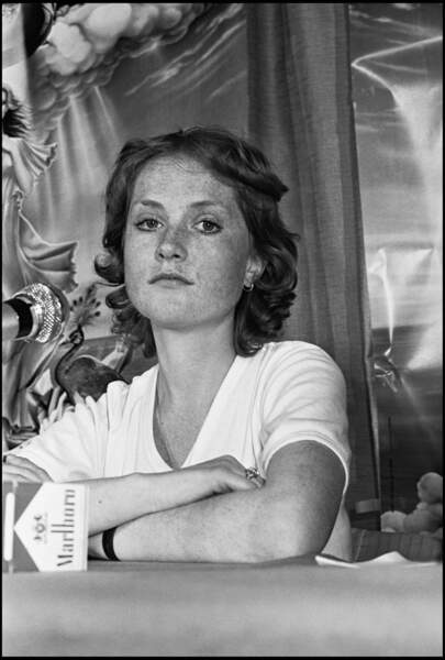 Isabelle Huppert à 24 ans
