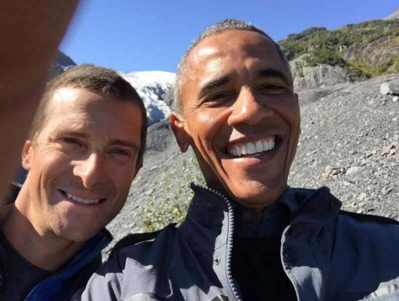 Selfie à la montagne