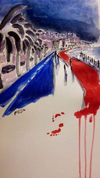 Une lectrice du journal Le Monde - qui a signé Mesia – a adressé ce dessin à la rédaction.
