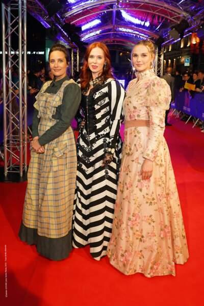 Julie di Bona, Audrey Fleuro et Camille Lou naturelles et stylées mises en beauté par Agence Studio Franck Provost