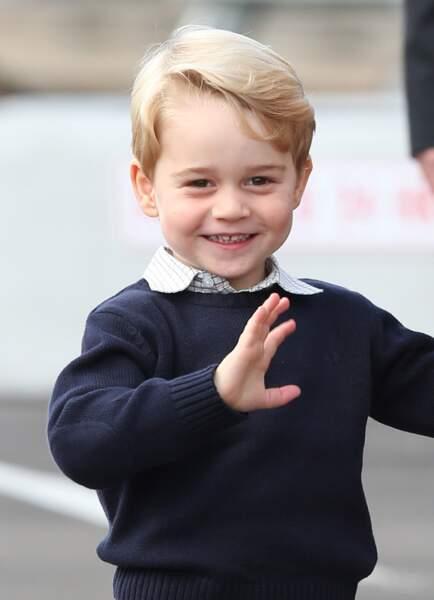 Le salut du prince George