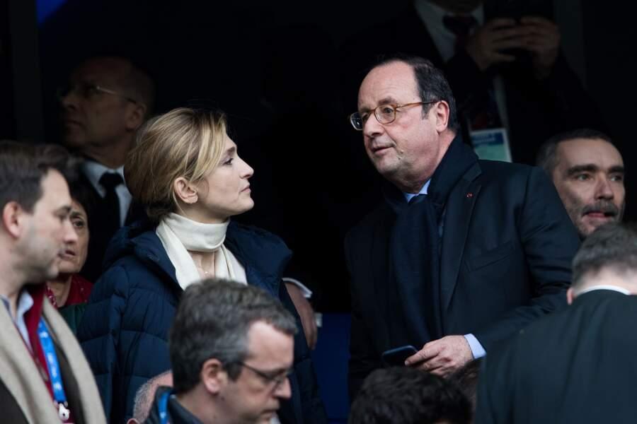 François Hollande et Julie Gayet le 10 mars 2018