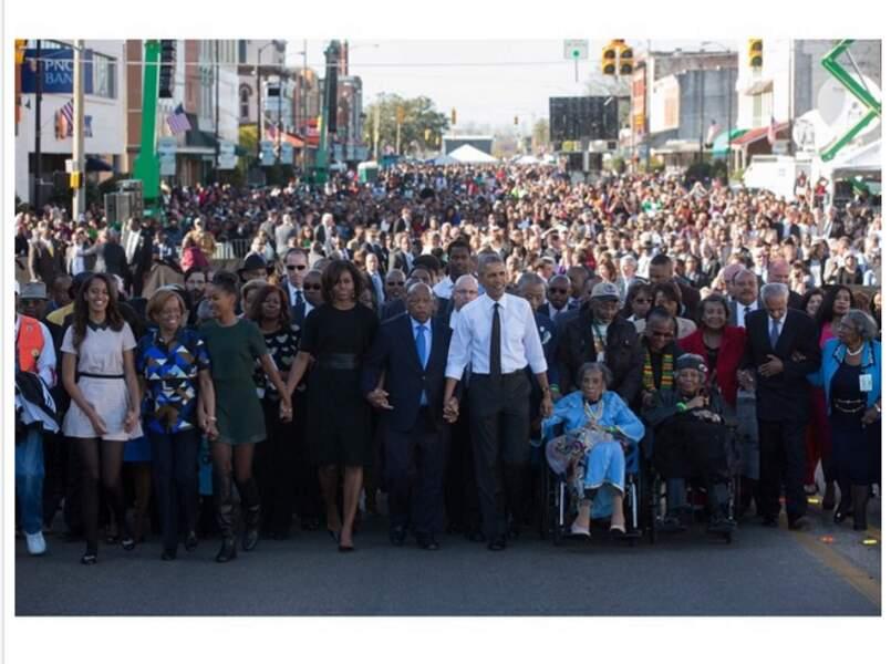 Célébration de la marche de Selma