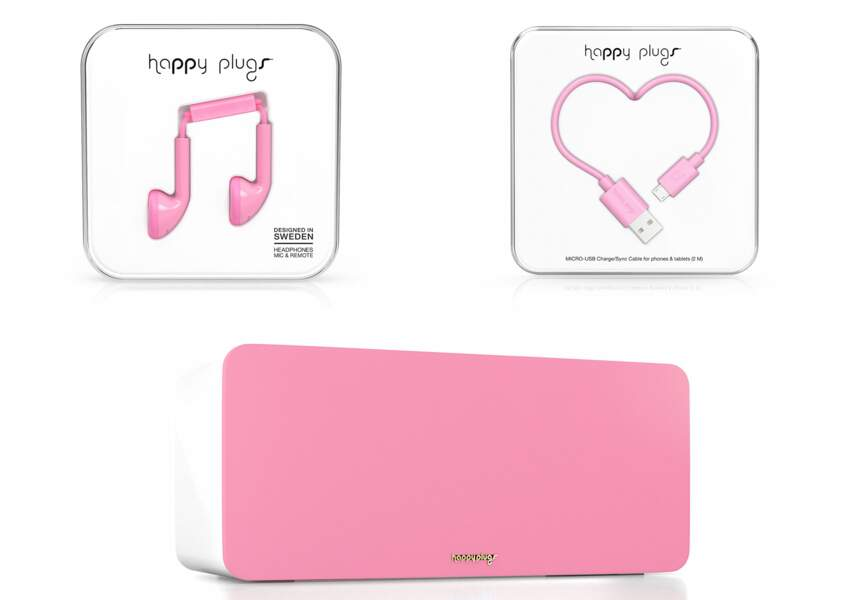 Happy Plugs aux couleurs de la Saint Valentin