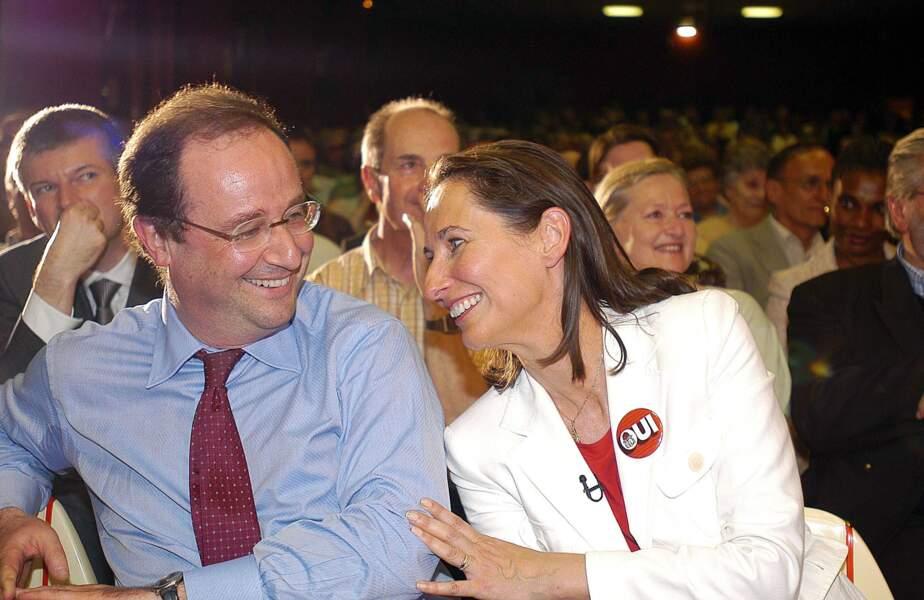 En 2005, à la réunion publique pour le OUI au traité établissant une constitution pour l'Europe