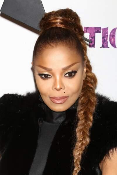 La maxi-tresse épi de Janet Jackson
