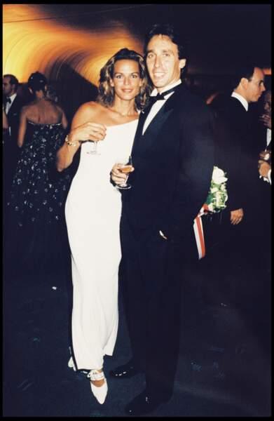 La princesse Stéphanie de Monaco a épousé Daniel Ducruet.