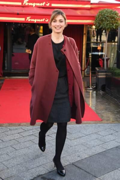 Julie Gayet nommée pour le César du meilleur premier film Grave
