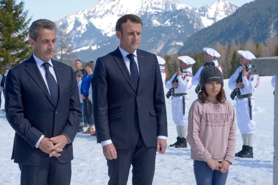 Nicolas Sarkozy et Emmanuel Macron se sont rendus sur le plateau des Glières pour un hommage aux résistants