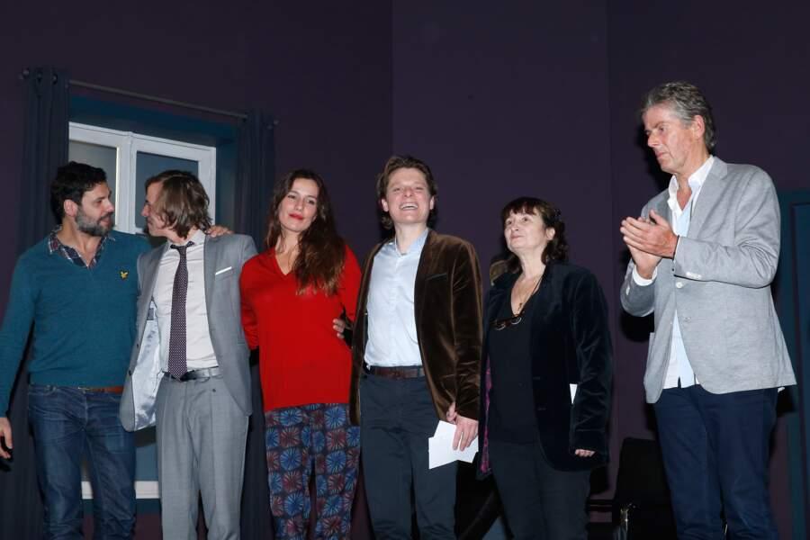 Le Prix Théâtre 2015 de la Fondation Barrière «De l'écrit...à l'écran et à la scène»