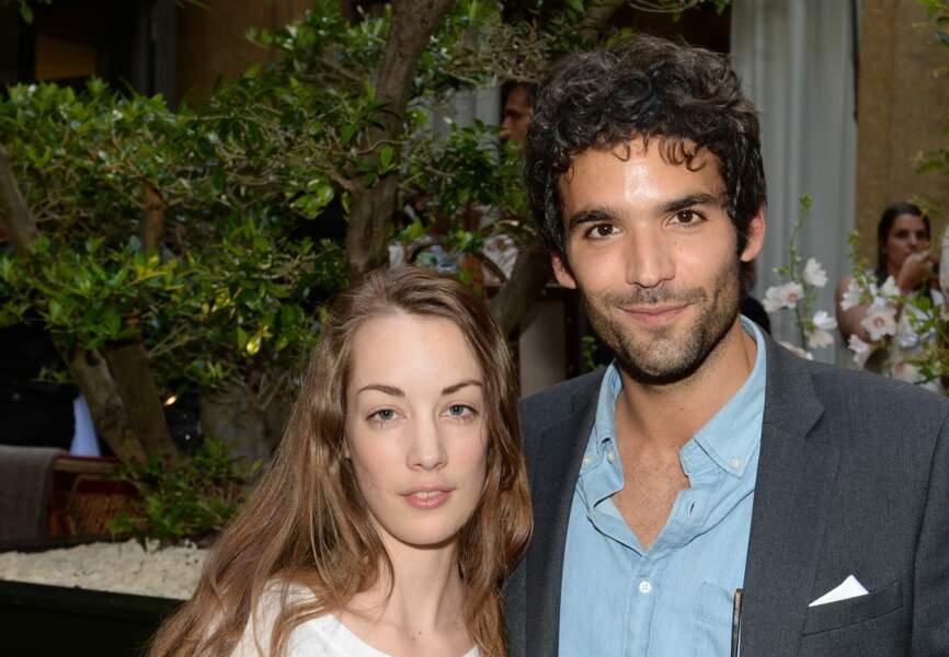 Juliette Besson et un ami