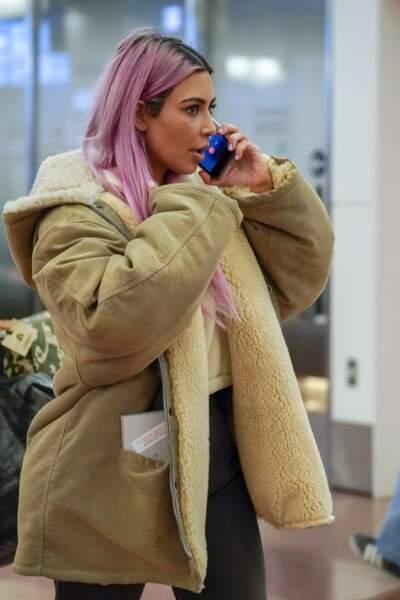 Kim Kardashian est devenue maman d'un troisième enfant, Chicago, né en janvier dernier