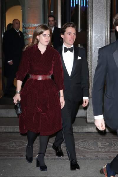 Edoardo Mapelli Mazzi était déjà fiancé à Dara Huang, avec laquelle il a eu un fils, Christopher, âgé de 3 ans