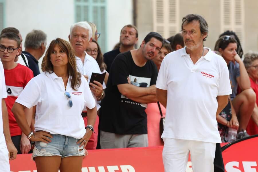 Jean-Luc Reichmann et sa femme Nathalie ont profité d'un moment de détente avant la fin des vacances