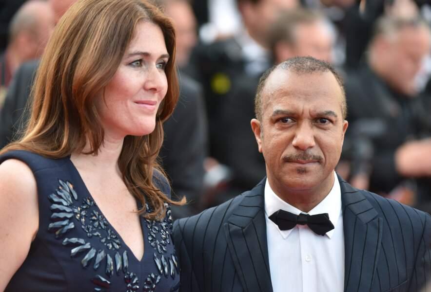 Pascal Légitimus et sa femme Adriana, la fille de l'acteur Pierre Santini.