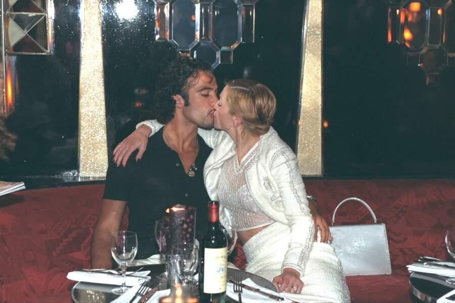 Madonna et Carlos Leon en 1995 à Paris