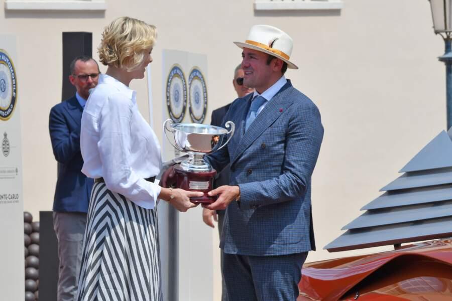 Charlène de Monaco a remis de nombreuses récompenses