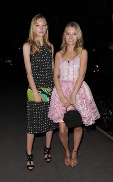 Ella Richards et Lottie Moss
