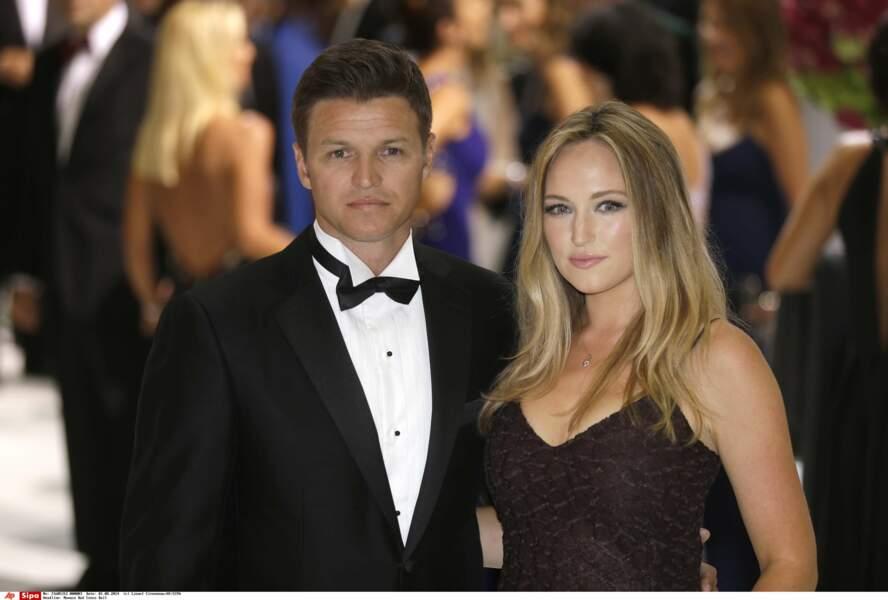 En septembre, Gareth Wittstock a choisi d'épouser Roisin Gavin sur le Rocher, près de sa soeur Charlène de Monaco
