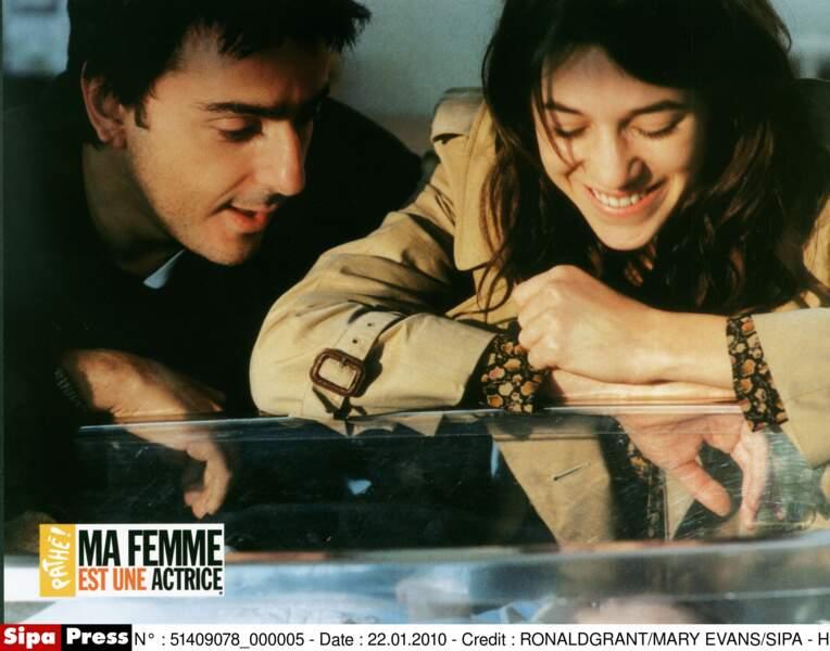 Yvan Attal et Charlotte Gainsbourg dans Ma Femme est une Actrice (2001)