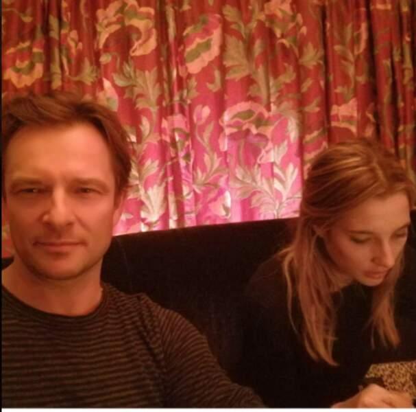 David Hallyday et sa fille Ilona