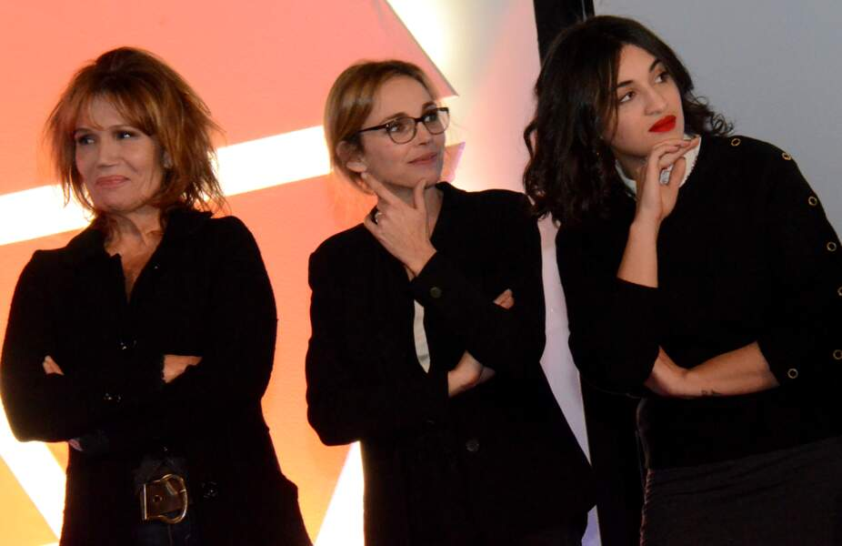 Clémentine Célarié, Claire Keim et Camelia Jordana