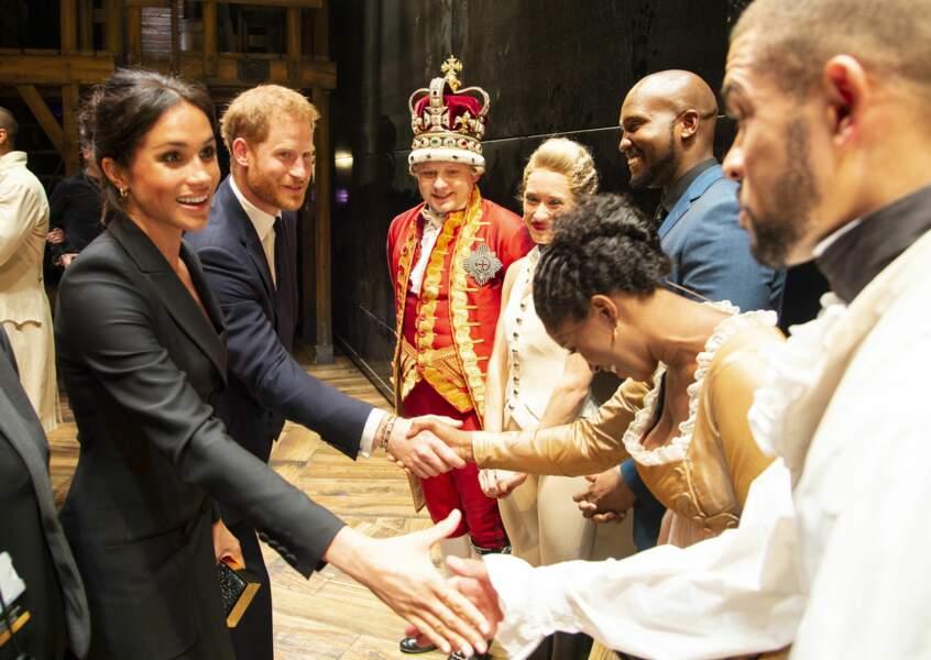 Meghan Markle et le prince Harry très proches du public
