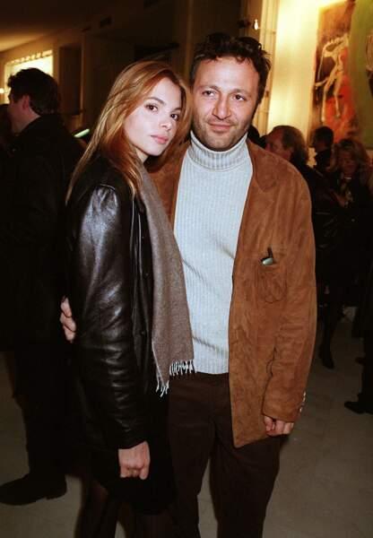Arthur, ici, toujours en compagnie du mannequin Léa Vigny en janvier 1999.