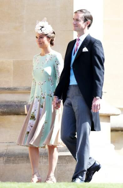 Pippa Middleton heureuse auprès de son mari