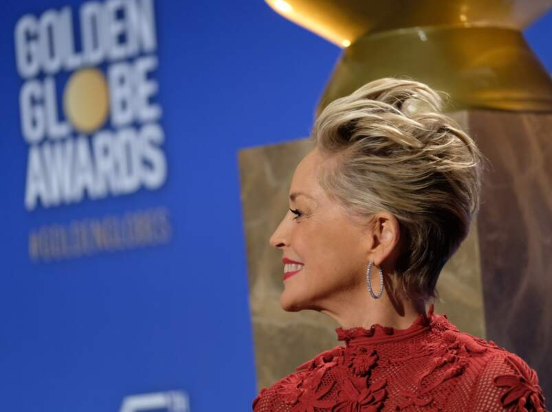 Sharon Stone : une coupe courte qui ne passe pas inaperçue