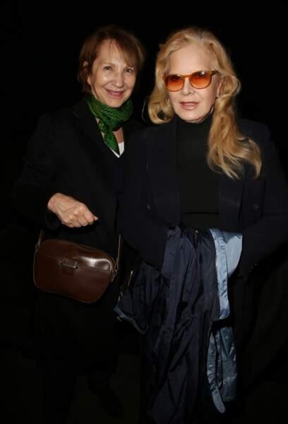 Nathalie Baye et Sylvie Vartan à Paris