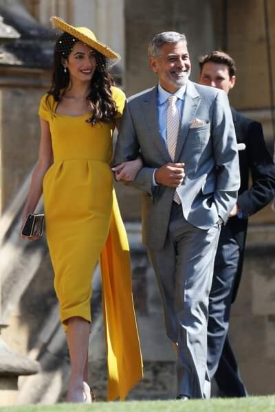 Geroge et Amal Clooney chicissimes