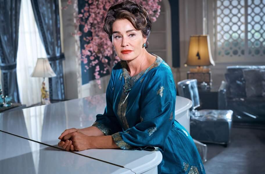 """Jessica Lange dans le rôle de Joan Crawford dans la série """"Feud: Bette and Joan"""""""