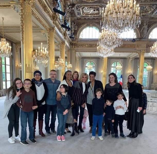 Christine Kelly souhaitait sensibiliser Brigitte Macron au sort de ces familles souvent victimes de la pauvreté