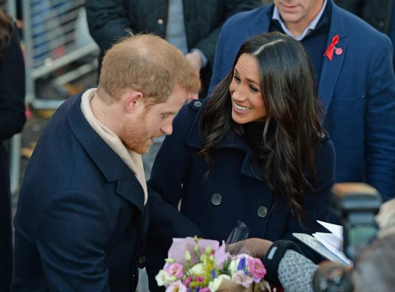 Le prince Harry et Meghan Markle, un couple très amoureux et complices