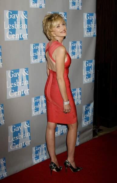 Un petit air de Jane Fonda, toujours en 2009