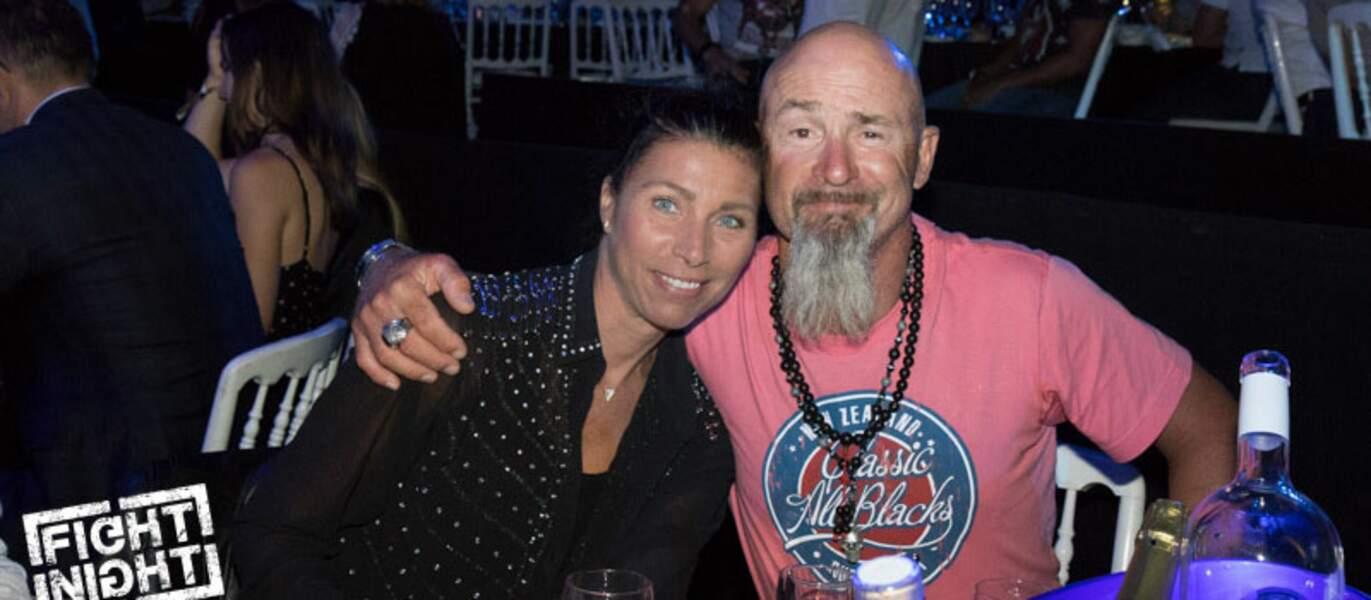 Vincent Lagaf et son épouse