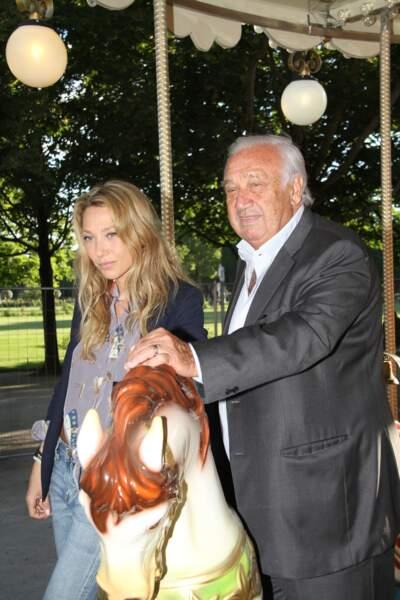 Marcel Campion, Laura Smet - Soirée d'inauguration de la 35ème fête foraine des Tuileries