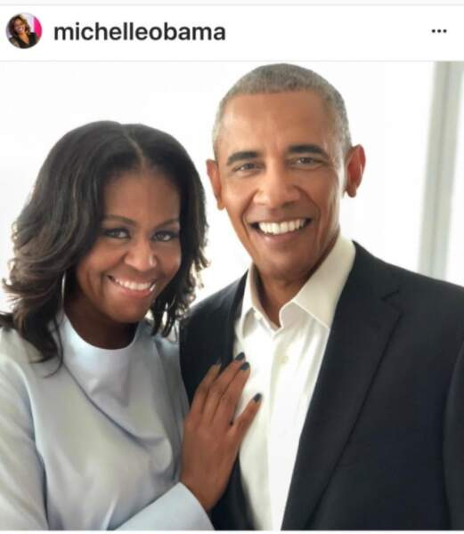 Michelle et Brack Obama