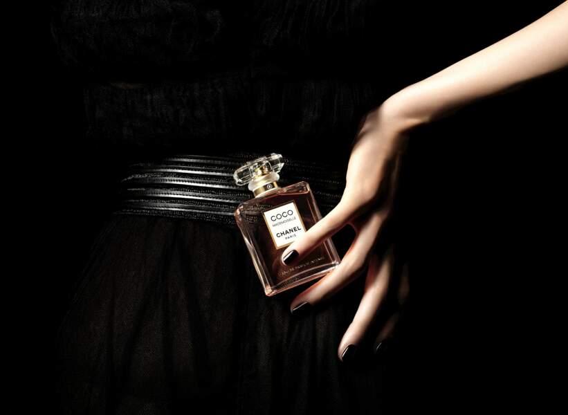 Nouvelle communication pour Coco Mademoiselle Eau de Parfum Intense de Chanel