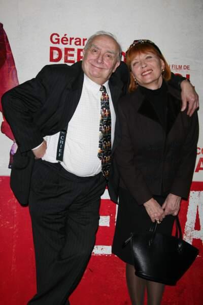 Claude Chabrol et Stéphane Audran en 2009