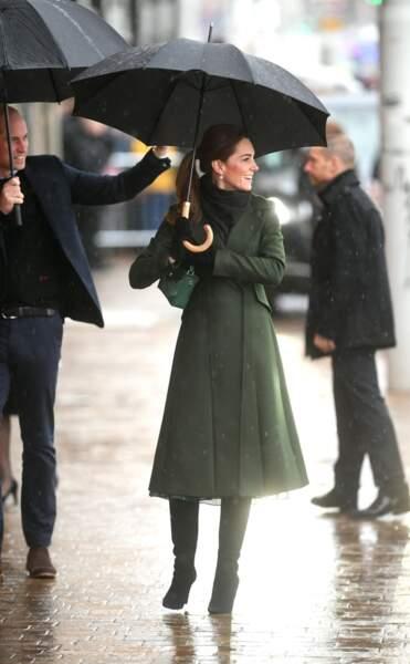 Kate Middleton a charmé une nouvelle fois les photographes