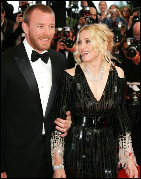 Guy Ritchie et Madonna au Festival de Cannes en 2008
