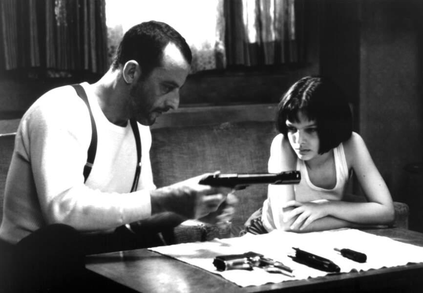 C'est au côté de Jean Réno dans Léon qu'on découvre Natalie Portman