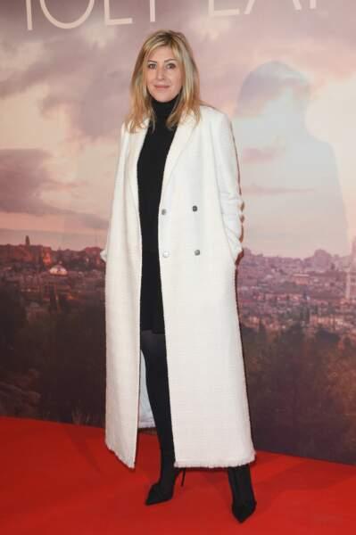 Amanda Sthers lors de l'avant-première de Holy Lands ce 4 décembre