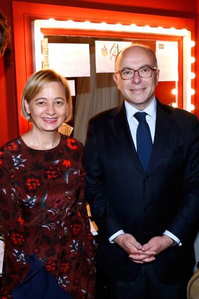 Bernard Cazeneuve et son épouse