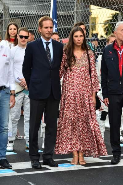 Le couple princier a assisté ce samedi 11 mai au Grand Prix de Monaco de Formule-E
