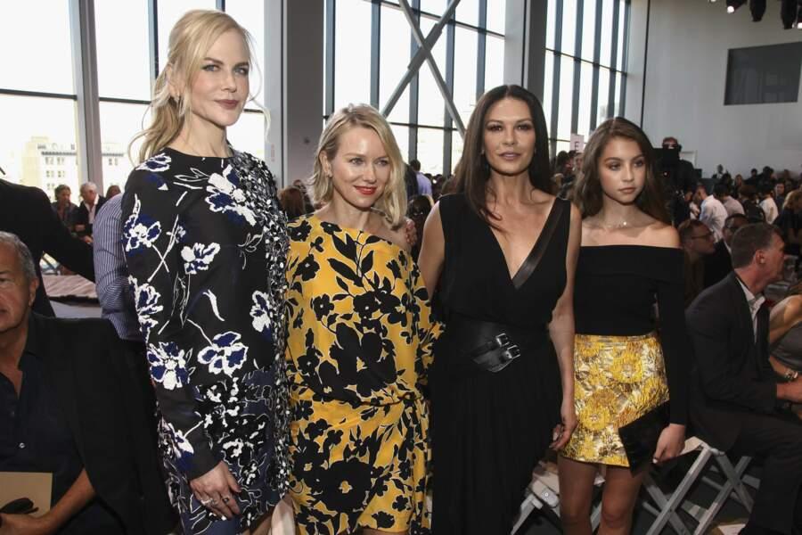 Nicole Kidman, Naomi Watts, Catherine Zeta-Jones et Carys Douglas, 14 ans