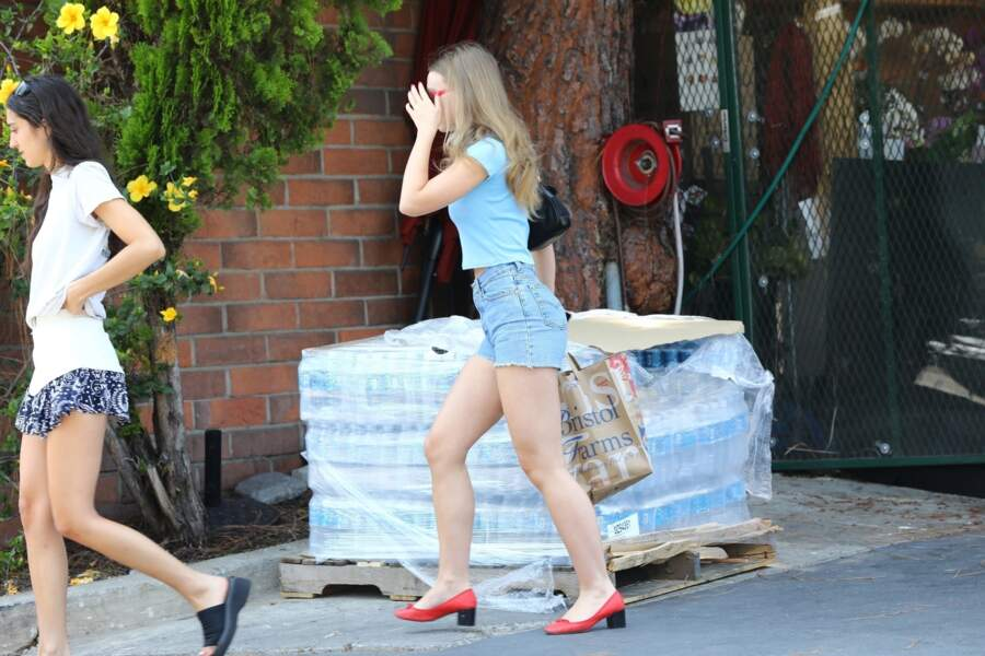 Lily-Rose Depp dans les rues de Los Angeles
